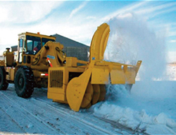 Swingmaster Snow Removal Attachment
