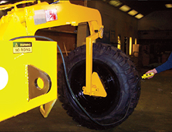Swingmaster Tire Carrier  Attachment