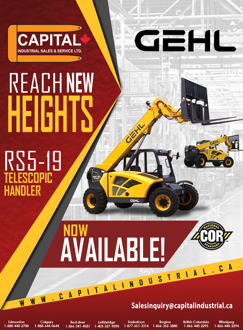 The New RS5-19 Telescopic Handler!