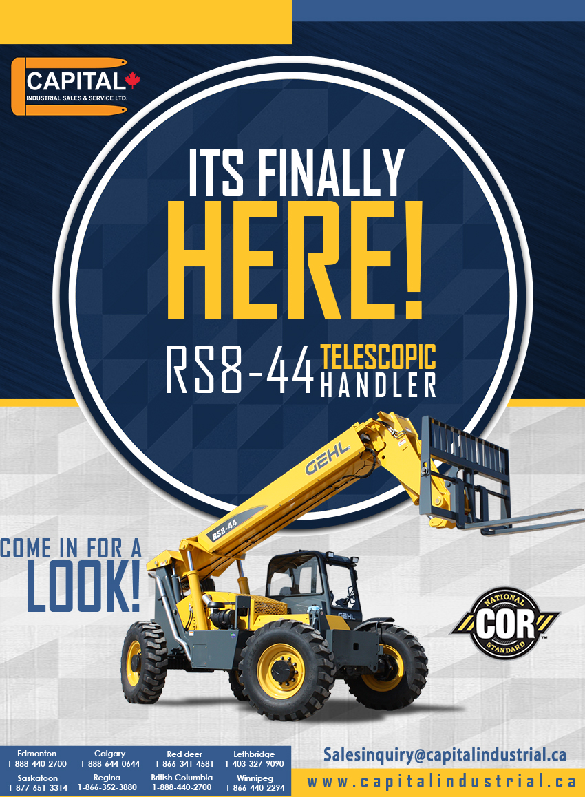 The New RS8-44 Telescopic Handler