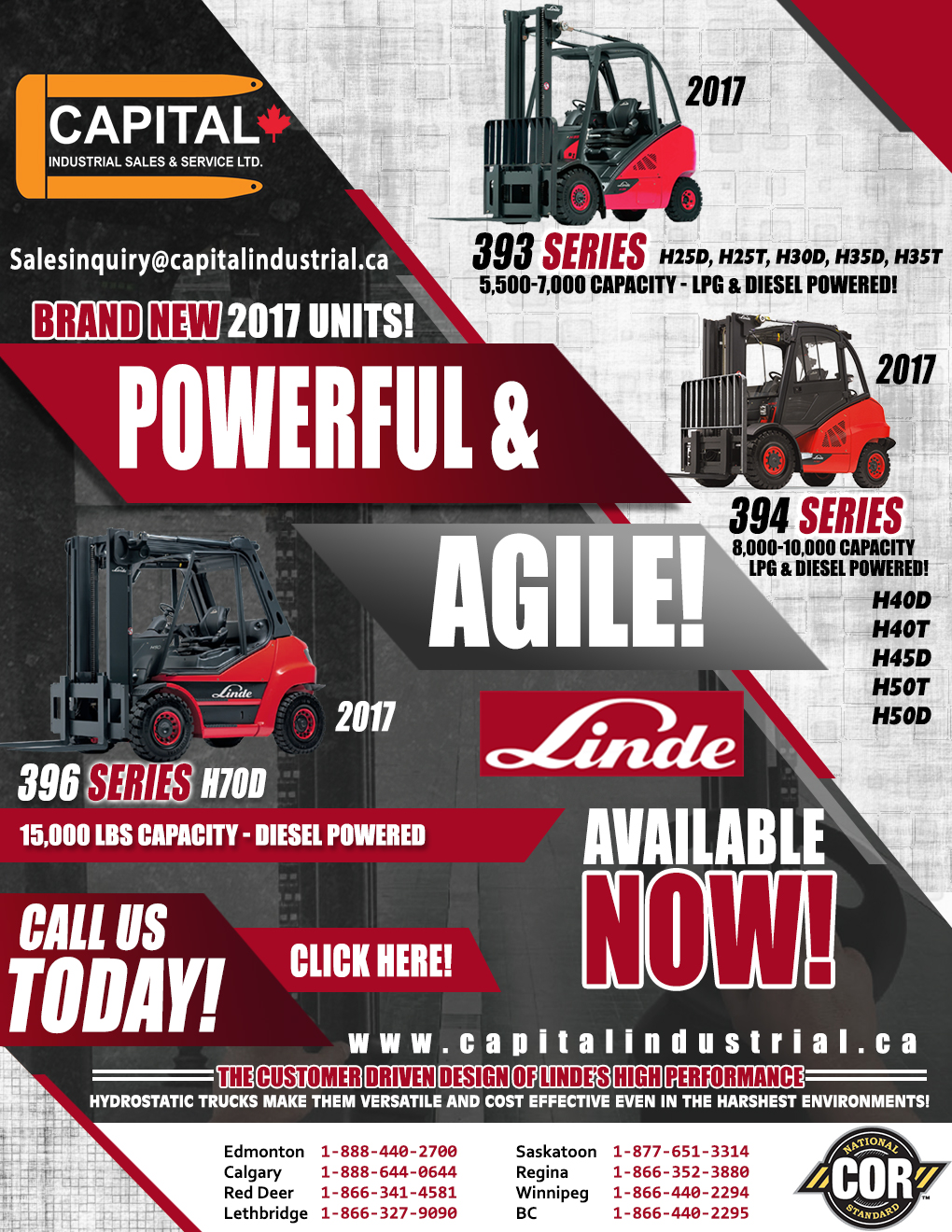Powerful And Agile Linde Units!