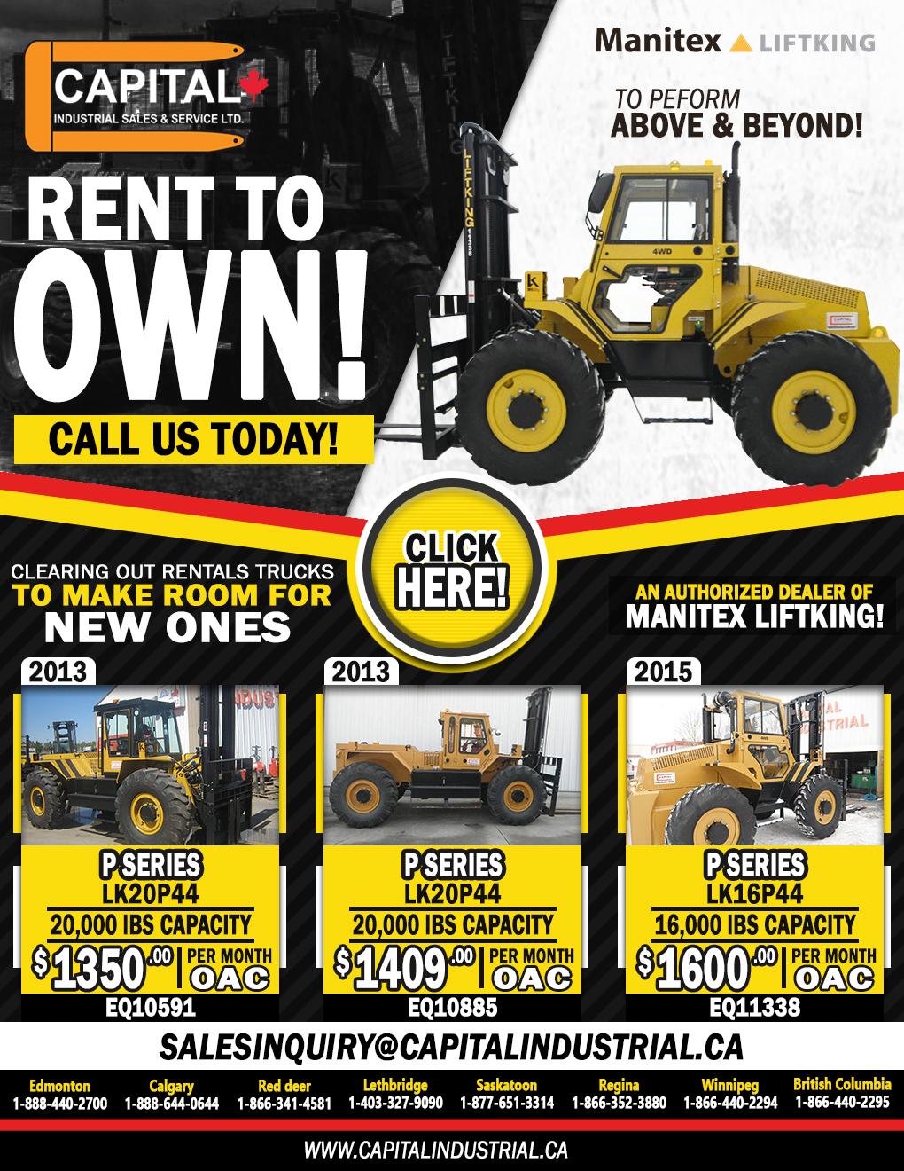 Rent To Own A Liftking Unit!