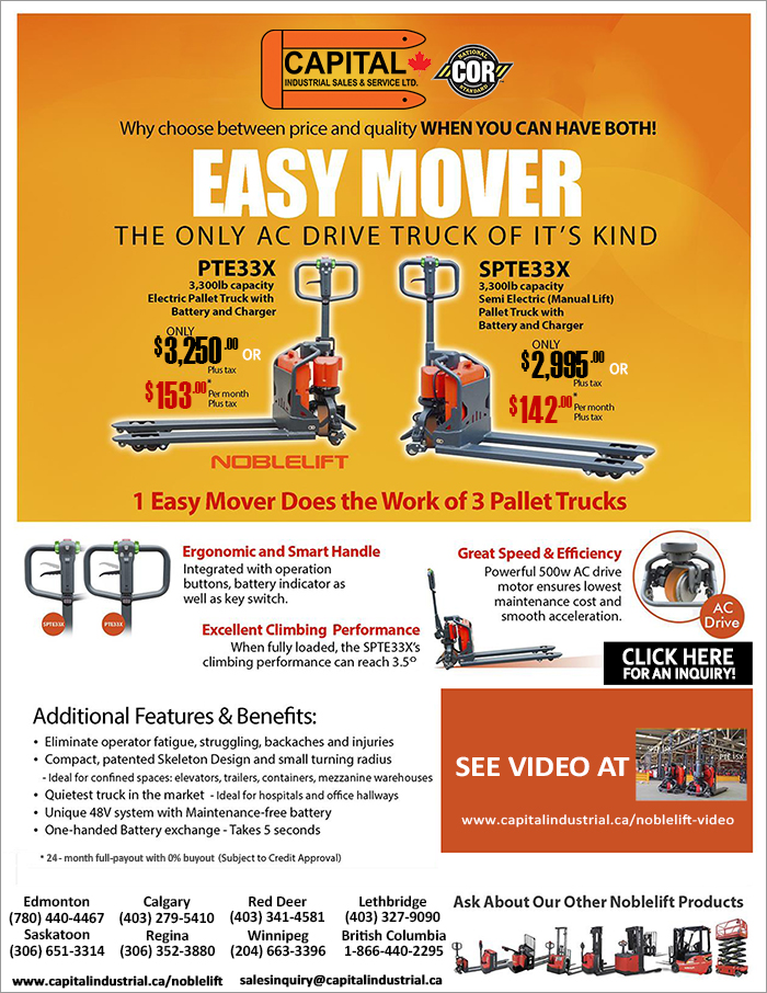 Noblelift Electric Pallet Trucks Sales