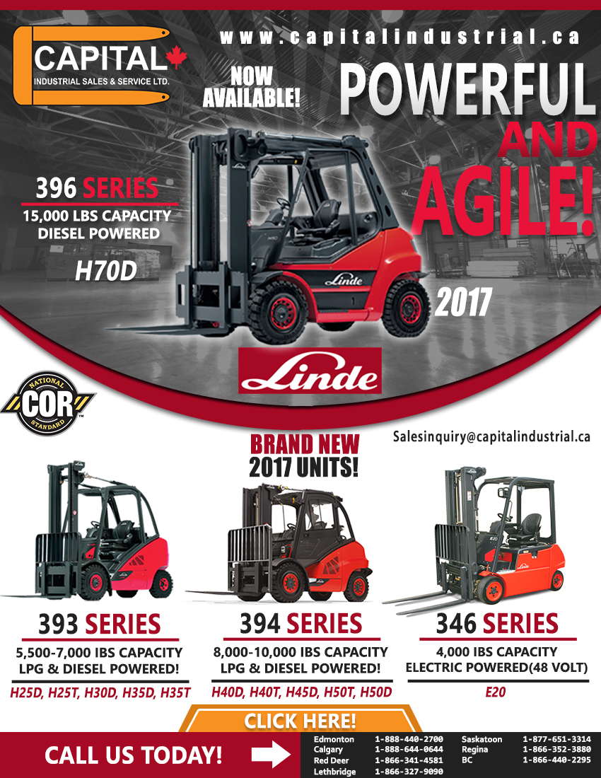 Get Your New 2017 Linde Unit