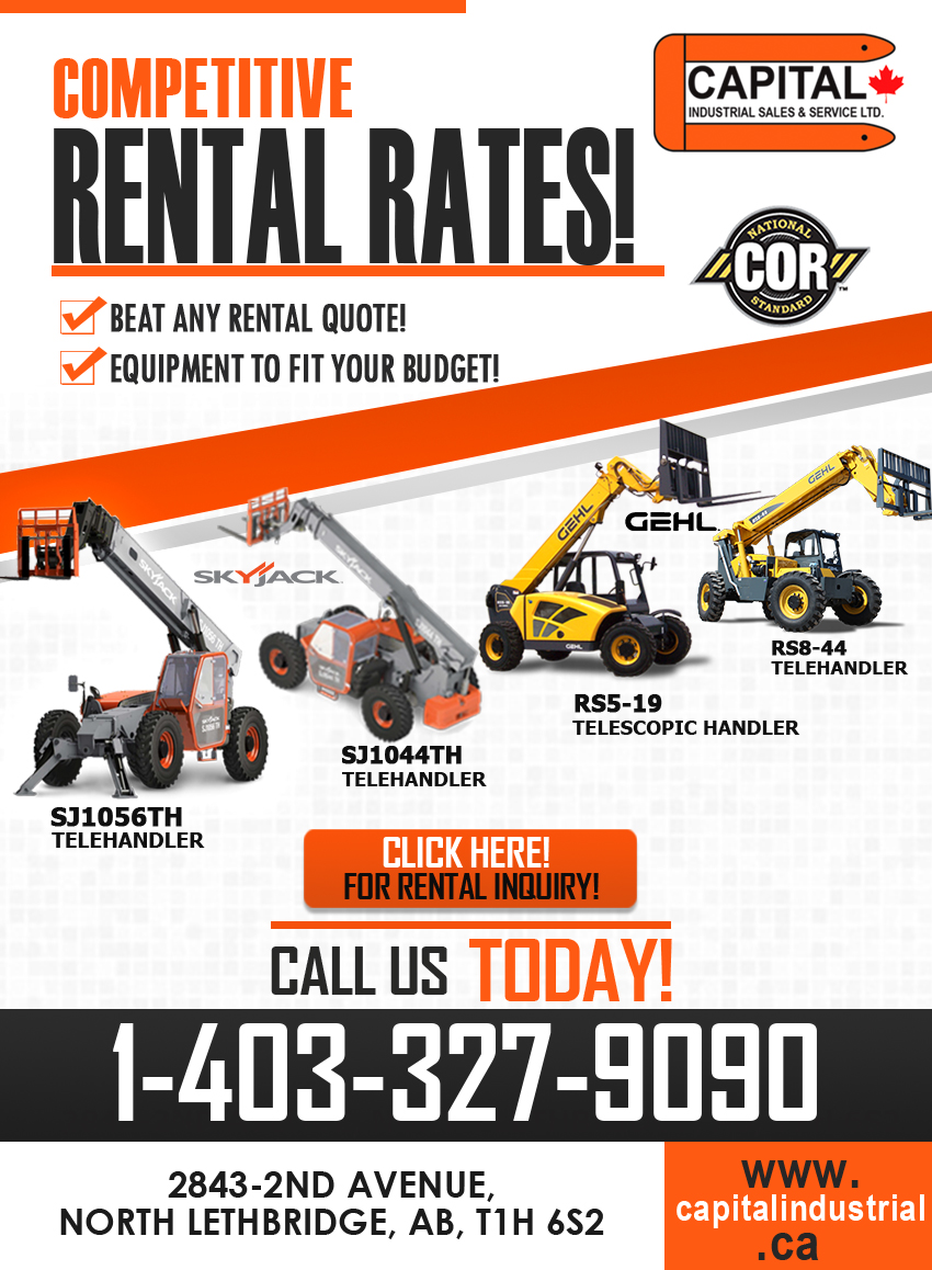 Competitive Rental Rates!