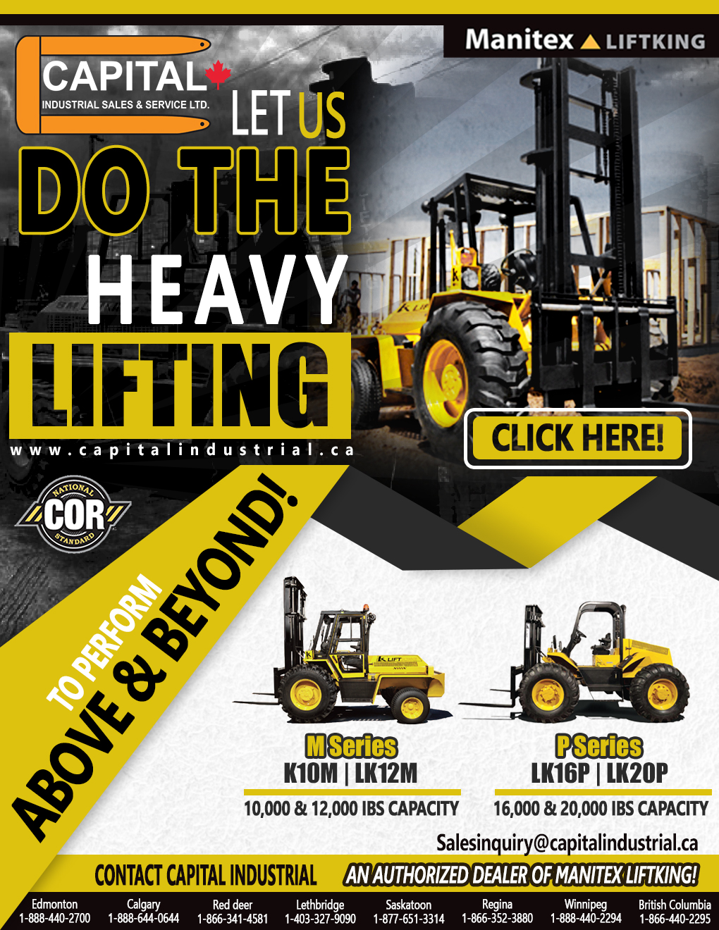 Get Your Manitex Liftking Today!