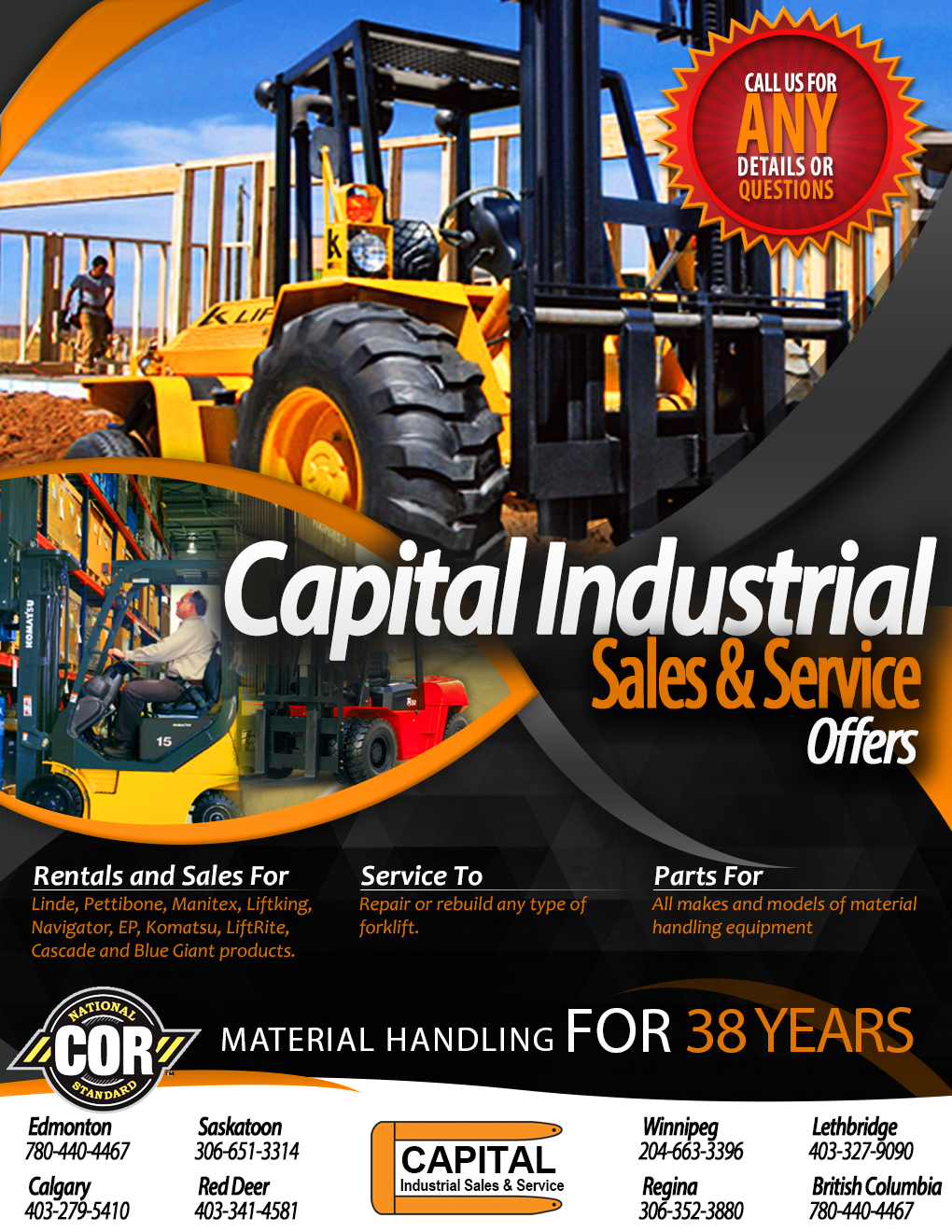 Material Handling For 38 Years