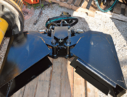 Swingmaster Cribbing Bucket Attachment
