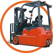 Linde Electric Counterbalanced Trucks