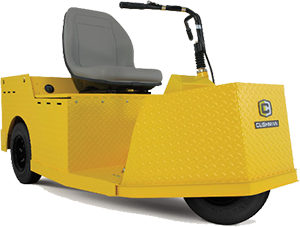 Cushman Tug - Warehouse Carrier for heavy loads and inventory racks