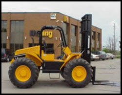 Rough Terrain Forklift Manitex Liftking P Series - up to 30000 lbs capacity