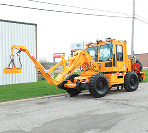 Swingmaster Railroad Construction Equipment  181LTC Swingloader