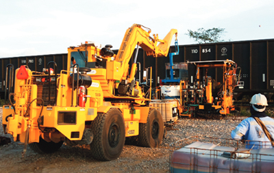 Swingmaster Telehandler Railroad Construction Equipment 360 RTC