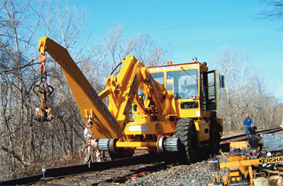 Swingmaster Railroad Construction Equipment SL180-20