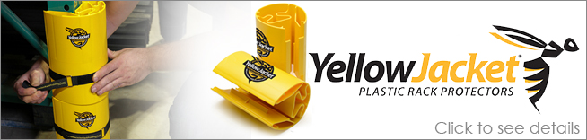 Yellow Jacket Rack Protectors
