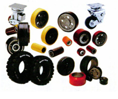 Forklift Tires, Wheels and Casters