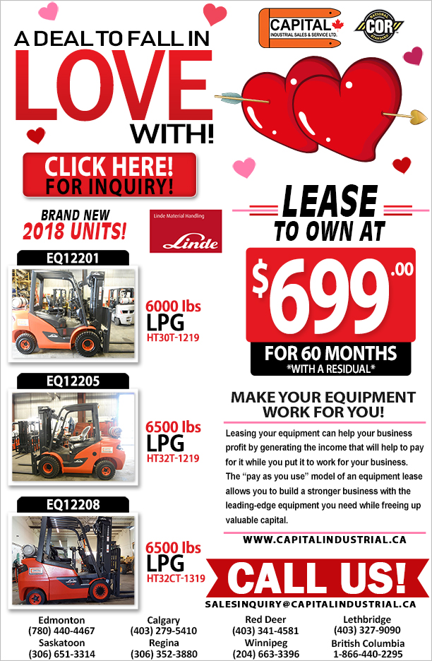 Linde Forklift Units Sale